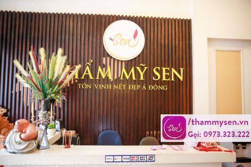 Quầy thẩm mỹ sen tại Hà Nội