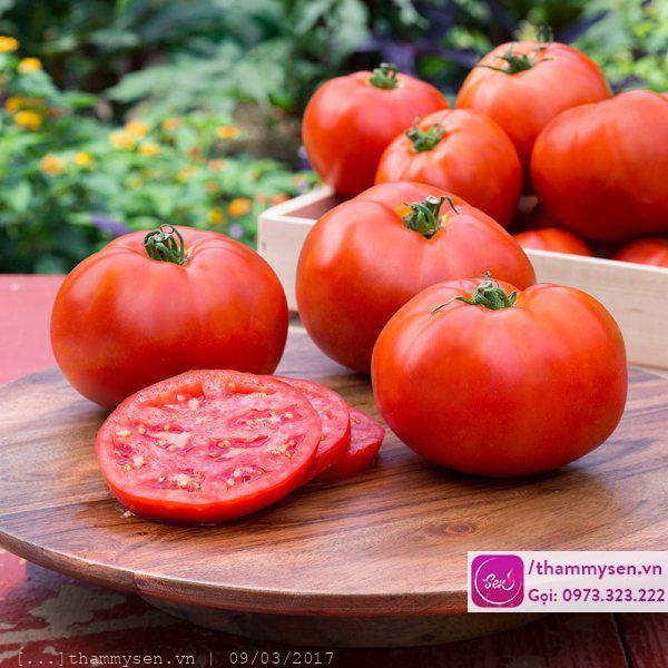 Cà chua đấy tẩy phát hết lông luôn, bạn làm chưa ?