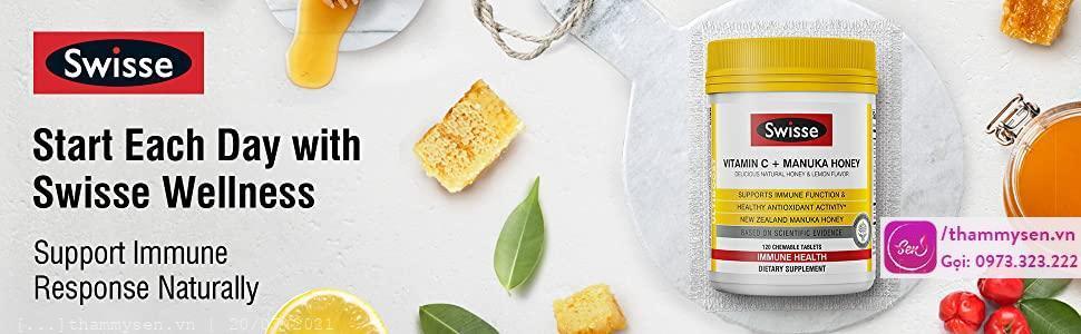 Swisse Vitamin C Chewable 500mg